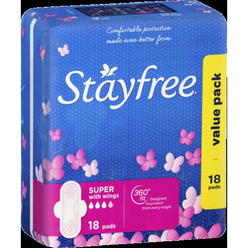 Stayfree Maxi Pad Super Wing 18 - IGA Wises Road, Maroochydore