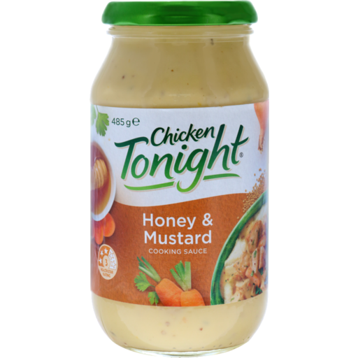 Chris Iga Chicken Tonight Simmer Sauce Golden Honey Mustard 485g