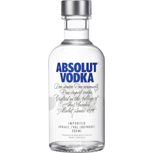 Rottnest Store - Absolut Vodka 200mL