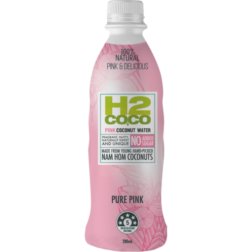 f1639414c5 H2 Coco Pure Pink Coconut Water No Added Sugar 280ml - Drakes Online ...