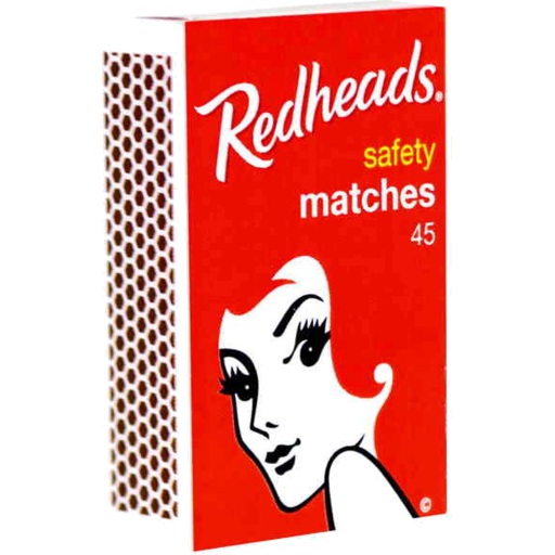 Renaissance - Redheads Safety Matches 45