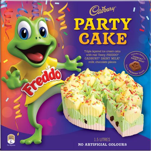 Freshchoice Edgeware Cadbury Freddo Ice Cream Cake 1 5l