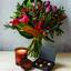 Photo of Flowers, Chocolates & Salamanca Candle