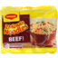 Photo of Maggi 2-Minute Noodles Beef 5pk 74g