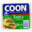 Photo of Coon Tasty Natural Cheese Slices 12 Pack 250gm