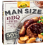 Photo of McCain Man Size BBQ Faves Sausage & Beef Patty 480g