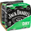 Photo of Jack Daniel's & Dry Can 4 Pack