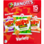 Photo of Arnott's Shapes Originals Variety Pizza, Barbecue And Mini Chicken Crimpy 15 Packs 375g 375g