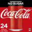Photo of Coca-Cola No Sugar 24pk