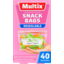 Photo of Multix Quick Seal Resealable Snack Bags 40