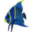 Photo of Plush Blue Angel Fish 35cm