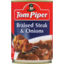 Photo of Tom Piper Braised Steak & Onions 400g