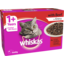 Photo of Whiskas Cat Food Pouch 1+ With Beef 12 Pack