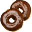 Photo of Chocolate Ring Donuts