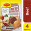 Photo of Maggi Best Ever Beef Burgers 30g