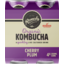 Photo of Remedy Organic Kombucha Cherry Plum 4 Pack X 250ml