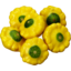 Photo of Squash Button Yellow Kg