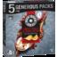 Photo of Red Rock Deli Style Potato Chips Sweet Chilli & Sour Cream 5x140g