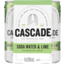 Photo of Cascade Lime & Soda Can4x200ml