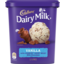 Photo of Cadbury Vanilla Ice Cream With Dairy Milk Chocolate 1.2l