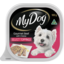 Photo of My Dog Wet Dog Food Gourmet Beef With Cheese Select Toppings 100g