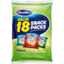 Photo of Bluebird Multipack Thin Cut Chips Mix 18 Pack