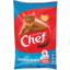 Photo of Chef Cat Food Pouch Ocean Fish & Salmon 4 Pack