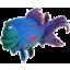 Photo of Plush Blue Fish 20cm