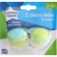 Photo of Tommee Tippee Cherry Latex Soothers 0m 2pk