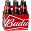 Photo of Budweiser 6 X 355ml Bottles