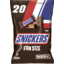 Photo of Snickers® Chocolate Large Party Share Bag 20 Piece 360g