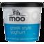 Photo of Moo Greek Style Yoghurt 720g