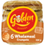 Photo of Golden Crumpets Wholemeal 6pk