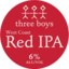 Photo of Three Boys West Coast Red IPA 330ml