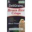 Photo of DeliGrains Rice Crisps - Brown (Black Sesame)