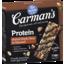 Photo of Carman's Salted Dark Choc & Almond Protein Bars 5x40g