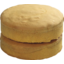 Photo of Unfilled Vanilla Sponge Cake 2 Pack 320g