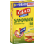 Photo of Glad Snap Lock Resealable Bags Sandwich Size 50pk