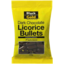 Photo of Black & Gold Licorice Bullets 200g
