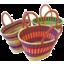 Photo of Elephant Grass Baskets - Oval