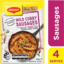 Photo of Maggi Recipe Base Mild Curry Sausages 29g