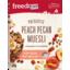 Photo of Freedom Foods Peach Pecan With Yoghurt Covered Flakes Prebiotic Muesli 350g