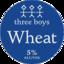 Photo of Three Boys Wheat 330ml