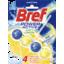 Photo of Bref Power Active Juicy Lemon, Rim Block Toilet Cleaner, 50g