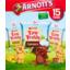Photo of Arnott's Tiny Teddy Honey, Chocolate And Choc Chip 15 Packs 375g