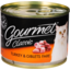 Photo of Gourmet Cat Food Can Classic Turkey 185g