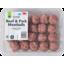 Photo of WW Pork & Beef Meatballs 400g