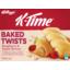 Photo of Kellogg's K-Time Twists 5 Bars Raspberry & Apple 185g