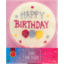 Photo of Dollar Sweets Happy Birthday Edible Cake Plaque Single Pack
