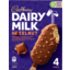 Photo of Cadbury Dairy Milk Hazelnut Ice Cream 4 Pack 360ml